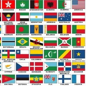 全世界国家名与国际代码缩写_时差_电话代码