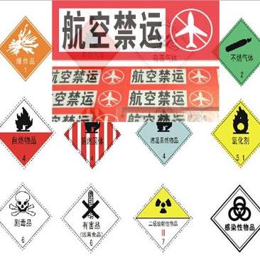 航空禁运品-国际快递